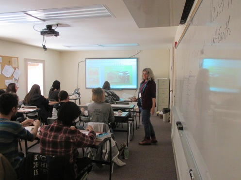 Students learning the principles of the arch, vault, and dome, and taking a 'virtual tour' of Ransom Ranch.